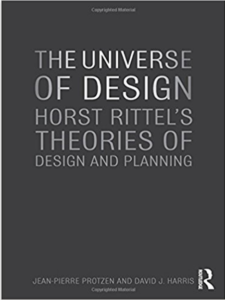Book cover of The Universe of Design, by Dave Harris, published by Routledge.